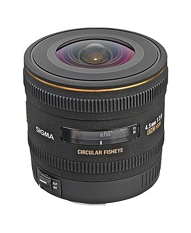 Sigma 4.5mm F2.8 EX DC HSM Circular Fisheye Lens For Pentax