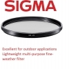 Sigma 49mm WR UV Filter