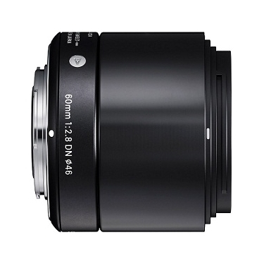 Sigma 60mm f/2.8 DN Lens For Sony E-Mount Cameras Black
