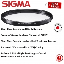 Sigma 82mm WR Ceramic Protector Filter
