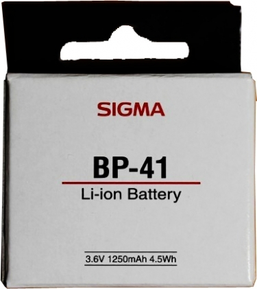 Sigma BP-41 Rechargeable Lithium-ion Battery