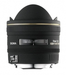 Sigma 10mm F2.8 EX DC Fisheye HSM Lens for Nikon Digital Camera