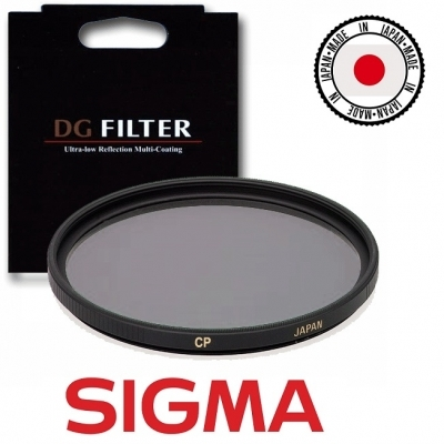 Sigma EX_DG 55mm Wide Angle Circular Polarising Filter