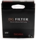 Sigma UV DG 67mm Multi- Coated Glass Filter