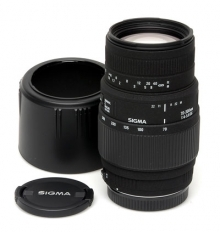 Sigma D/G 70-300mm (Canon EOS) f4/5,6 Macro Zoom Lens