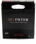 Sigma 82mm EX DG Digitally Optimised UV Wide Angle MC Filter