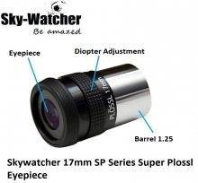 Skywatcher 17mm SP Series Super Plossl Eyepiece