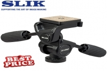 Slik SH-806E Head with quick release plate