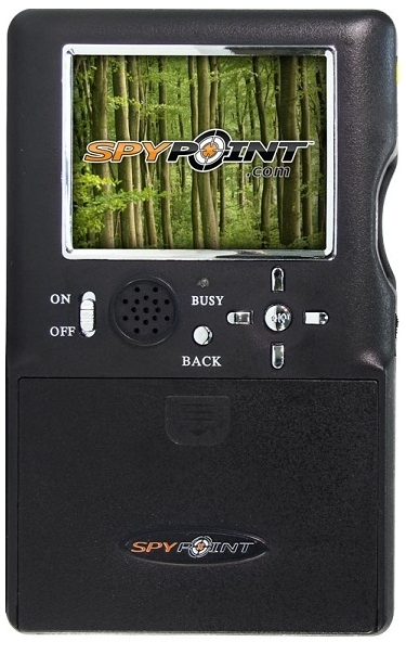 SpyPoint SP-HD-12C Invisible Black LEDs Surveillance Camera Camo