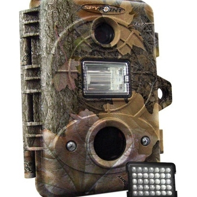 SpyPoint FL-7C Flash and Infrared 7MP Digital Trial Camera Camo