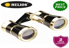 Helios Symphony Black/Gold 3x25 Opera Glasses