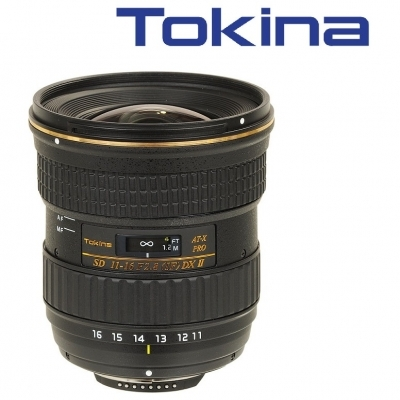 Tokina AT-X 116 PRO DX 11-16mm Mark II F2.8 Lens For Canon