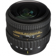 Tokina Fisheye 10-17mm F3.5-4.5 AT-X FX Lens for Canon