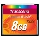 Transcend 133X 8GB CF Compact Flash Memory Card