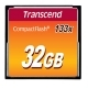 Transcend 133X 32GB CF Compact Flash Memory Card