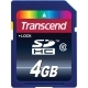 Transcend 4GB SDHC class-10 Memory Card