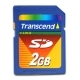 Transcend 2GB Secure Digital (SD) memory Card Standard