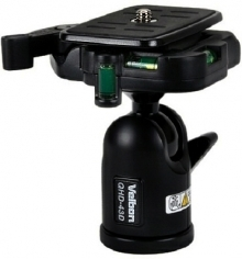 Velbon QHD-43D Ball And Socket Head With Quick Release Plate