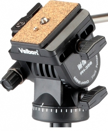 Velbon Videomate 638 Aluminium Tripod With PH-358 Fluid Head