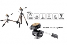 Velbon Semi Pro Sherpa 750R Tripod with Velbon PH-157Q Head