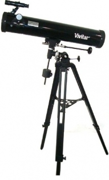 Vivitar TEL-76700 Reflector Telescope With Tripod