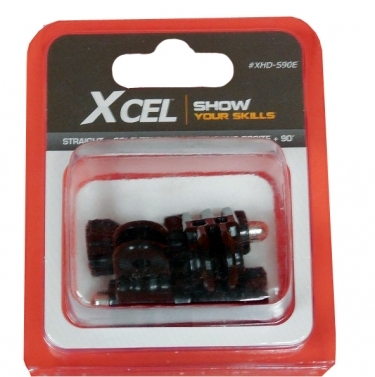 Xcel HD 90 Degree/Straight Extenders With Thumbscrews