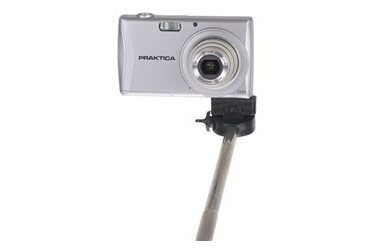 Panasonic Monopod Z07-1 Hand Held Compact Camera Selfie Stick - Black