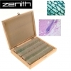 Zenith Prepared 100 Piece Microscope Slides Set
