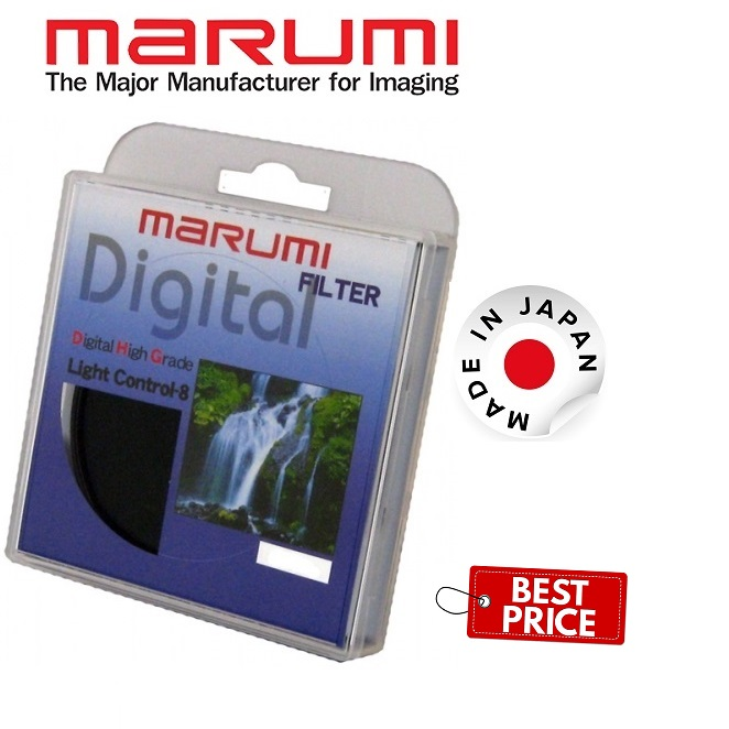 MARUMI 82MM ND8 DHG Light Control Filter