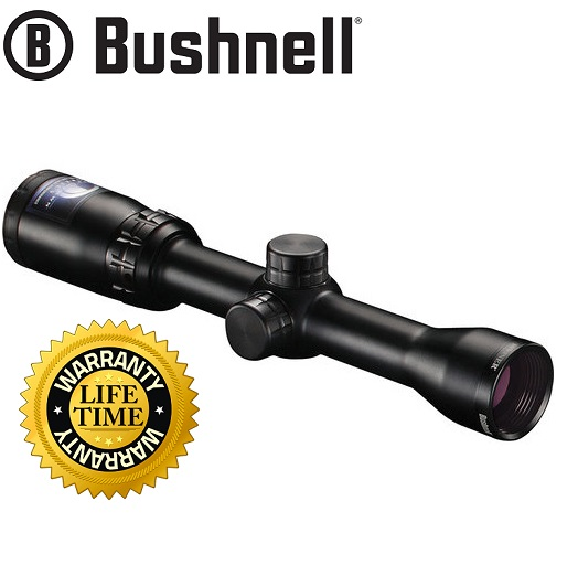 Bushnell 1.75-4x32 Trophy Riflescope (Circle-X Reticle, Black)