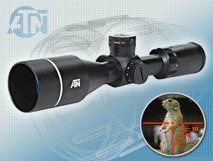 ATN 3-9X55LU Day Time Rifle Scope