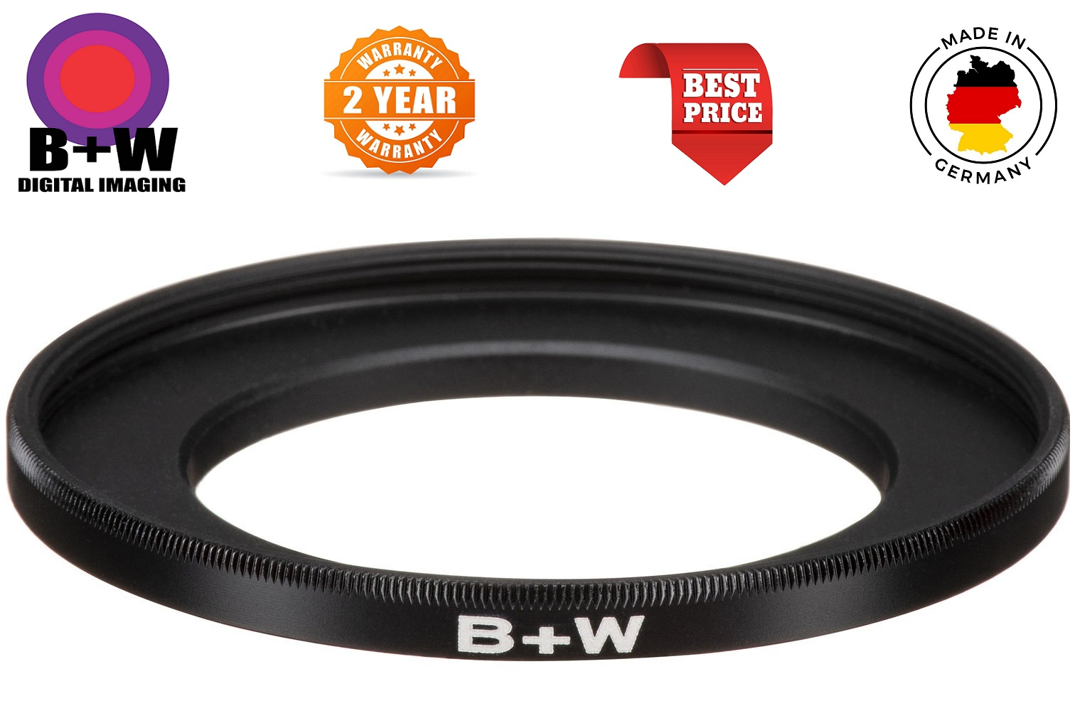 B+W 40.5-58mm Step Up Ring
