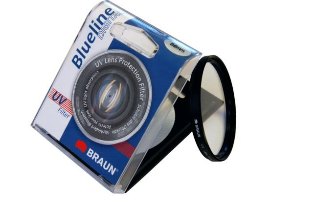 Braun 52mm Blueline Ultra Violet Filter