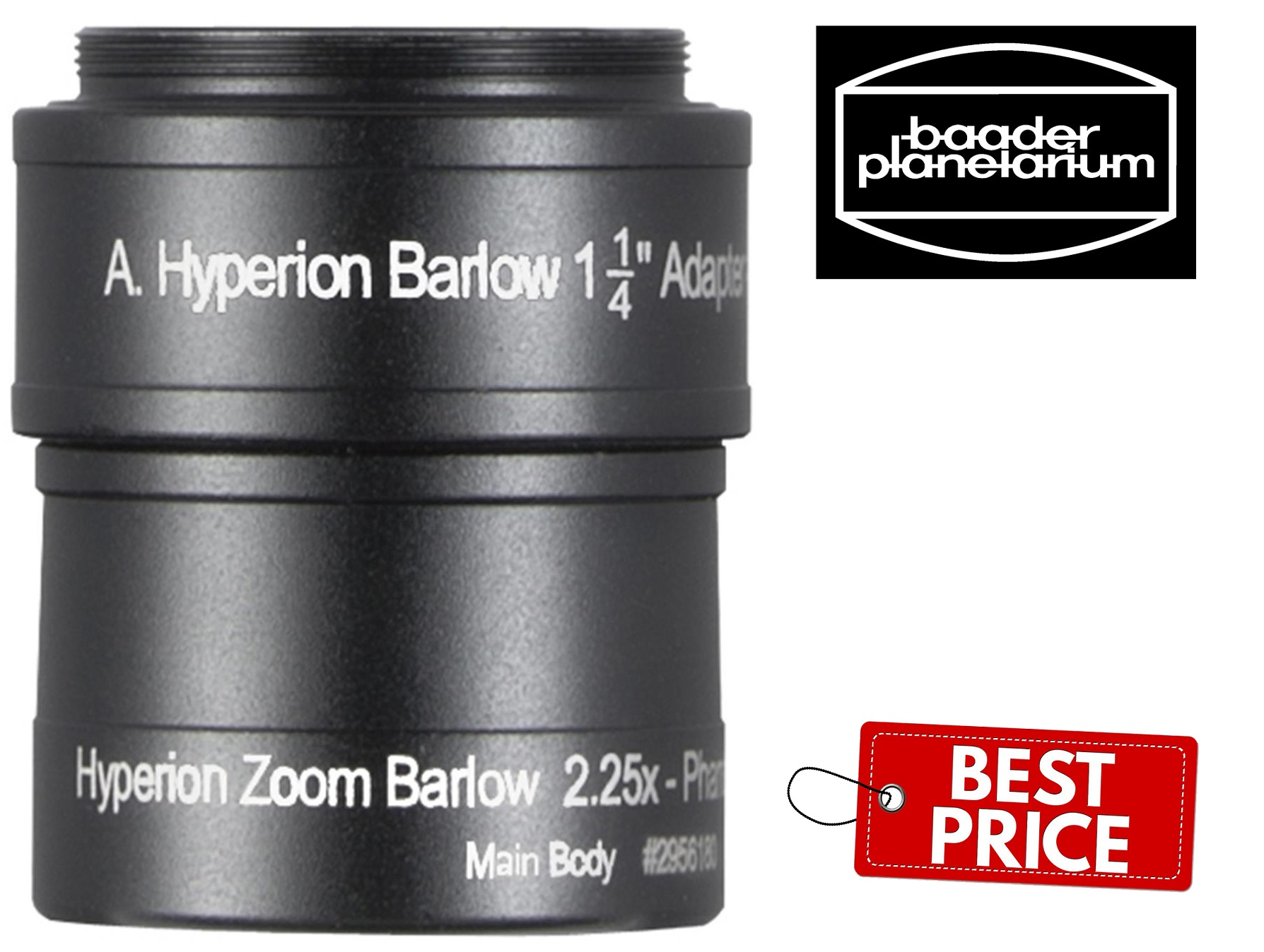 Baader 2.25x Hyperion Zoom Barlow