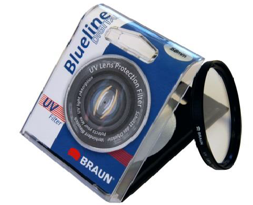 BRAUN 55mm Blueline Ultra Violet Filter