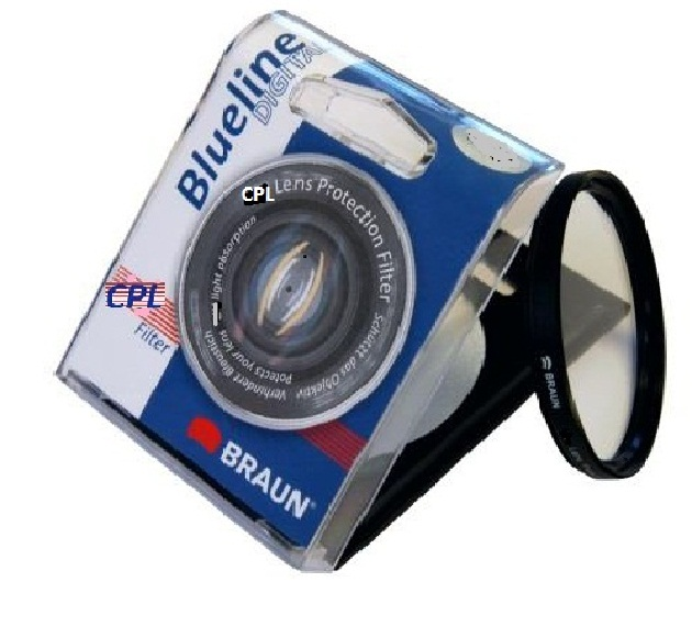 Braun 72mm Blueline Circular Polarizing Filter