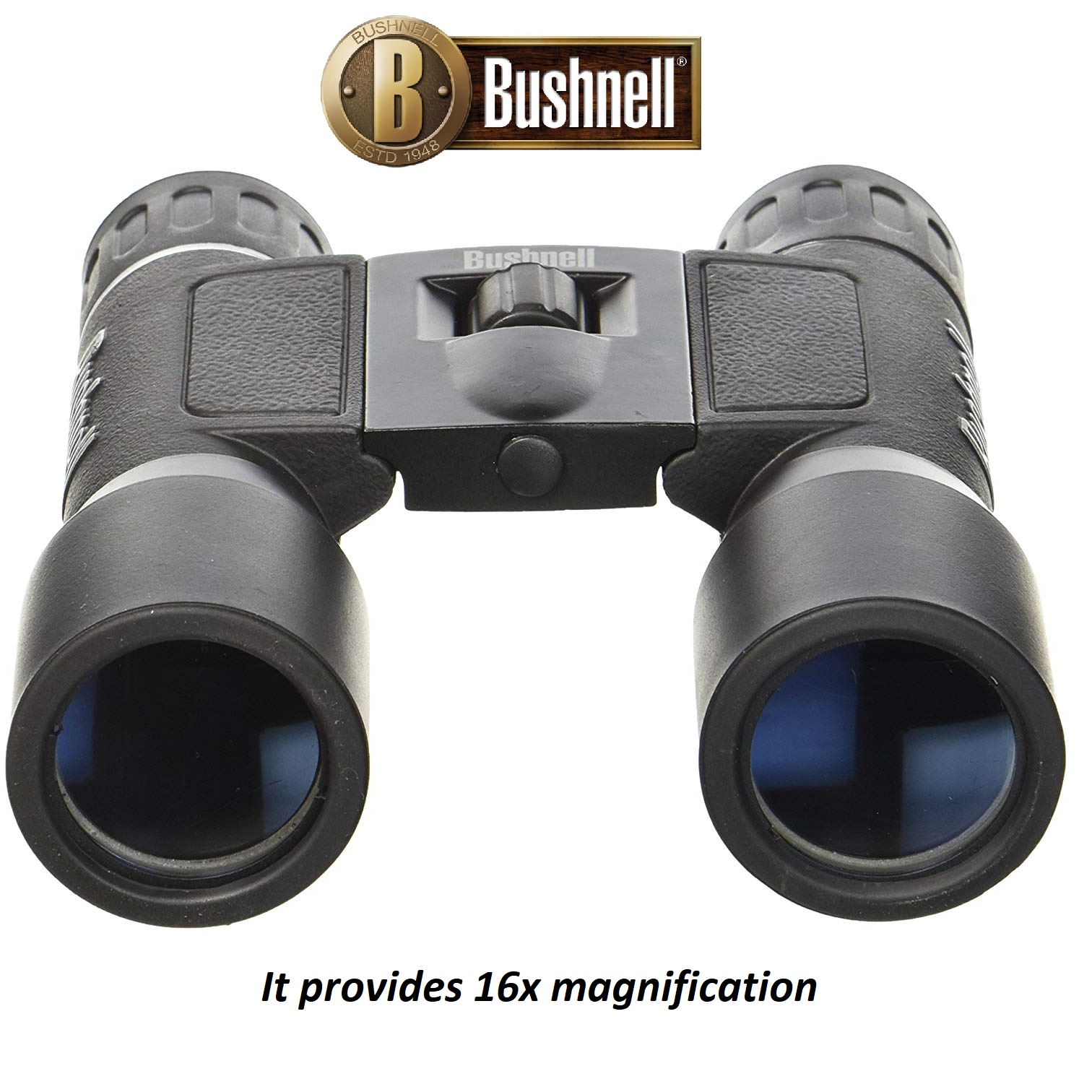 Bushnell 16x32 Powerview Folding Binoculars