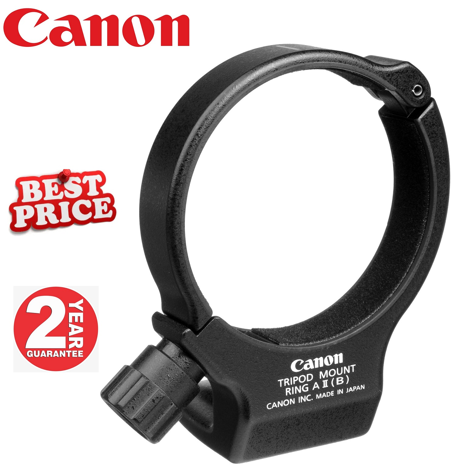 Canon A II Tripod Mount Ring For 70-200mm f/4L Lens