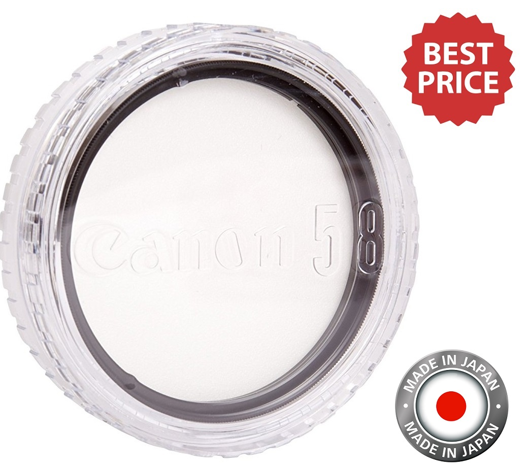 Canon 58mm Regular Filter Protect for all G Series