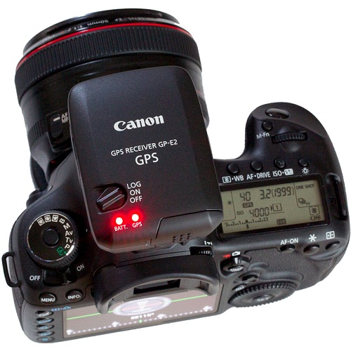 News Canon GP-E2 GPS Receiver