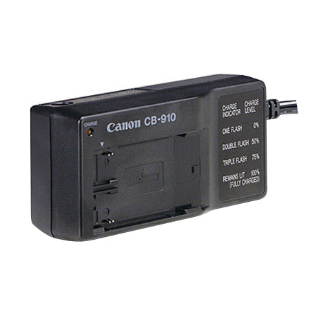 Canon CB-910 Car Battery Adapter with Cigarette Lighter Plug