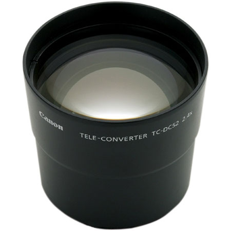 Canon TC-DC52, 2.4x Tele Conversion Lens for the Powershot A Series