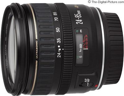Canon 24-85mm EF 24-85mm f3.5-4.5 USM Lens £248