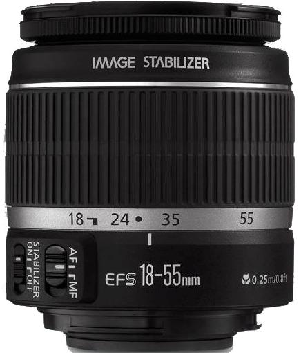 Canon EF-S 18-55mm F3.5-5.6 IS Lens