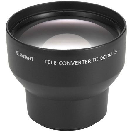 Canon TC-DC10 2x Tele Conversion Lens for Canon PowerShot S60 S70 & S80