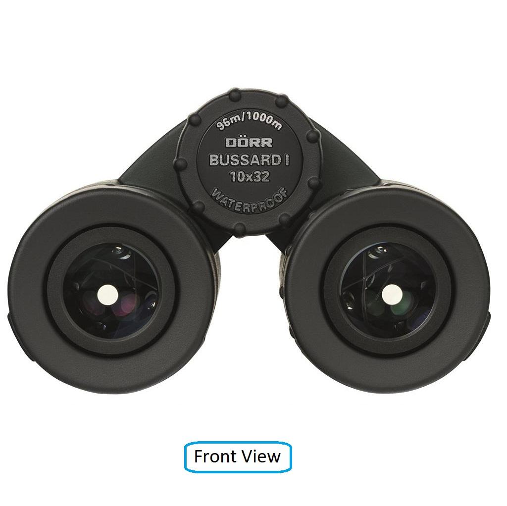Dorr Danubia 10x32 Bussard I Roof Prism Pocket Binoculars