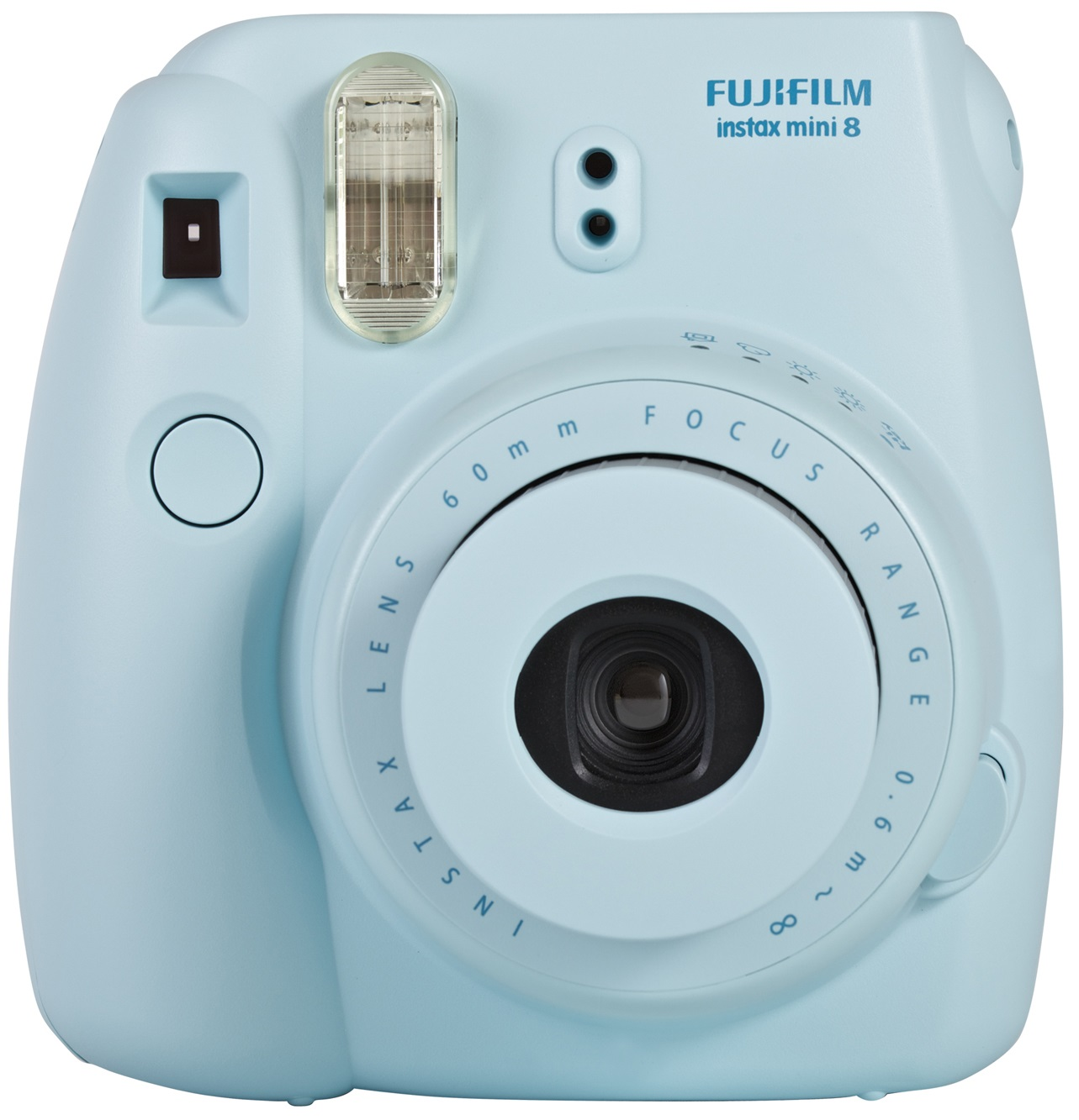 fujifilm instax mini 8 blue instant camera inc 10 shots fuj1584 london. Black Bedroom Furniture Sets. Home Design Ideas
