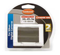 Hahnel HL-EL3e Battery for Nikon Digital Camera