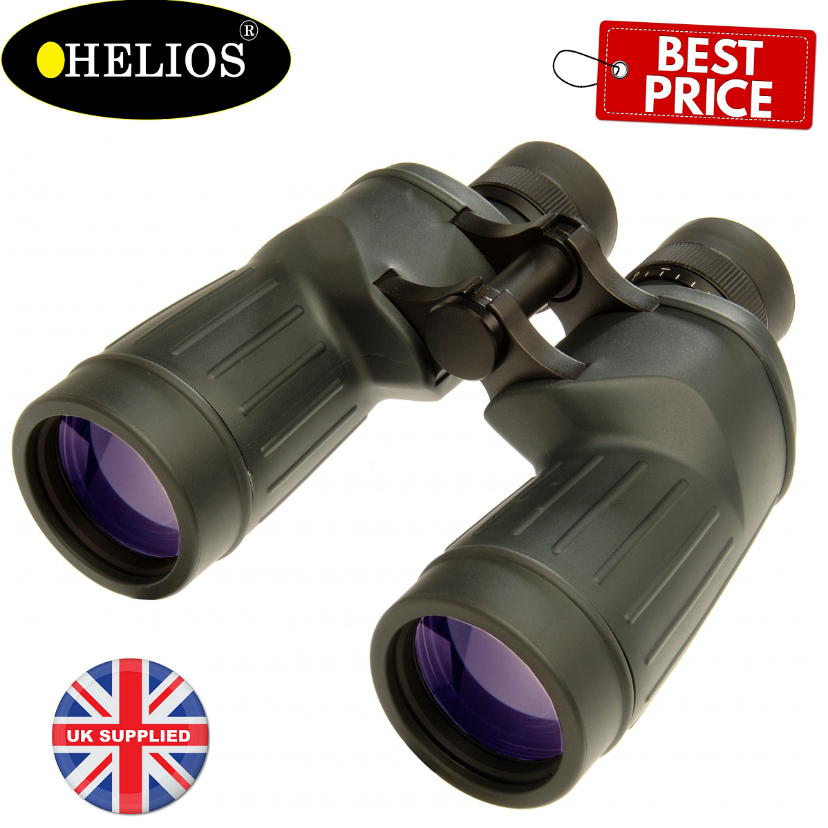 Helios Stellar II 7x50 Water Proof Obervation Binoculars
