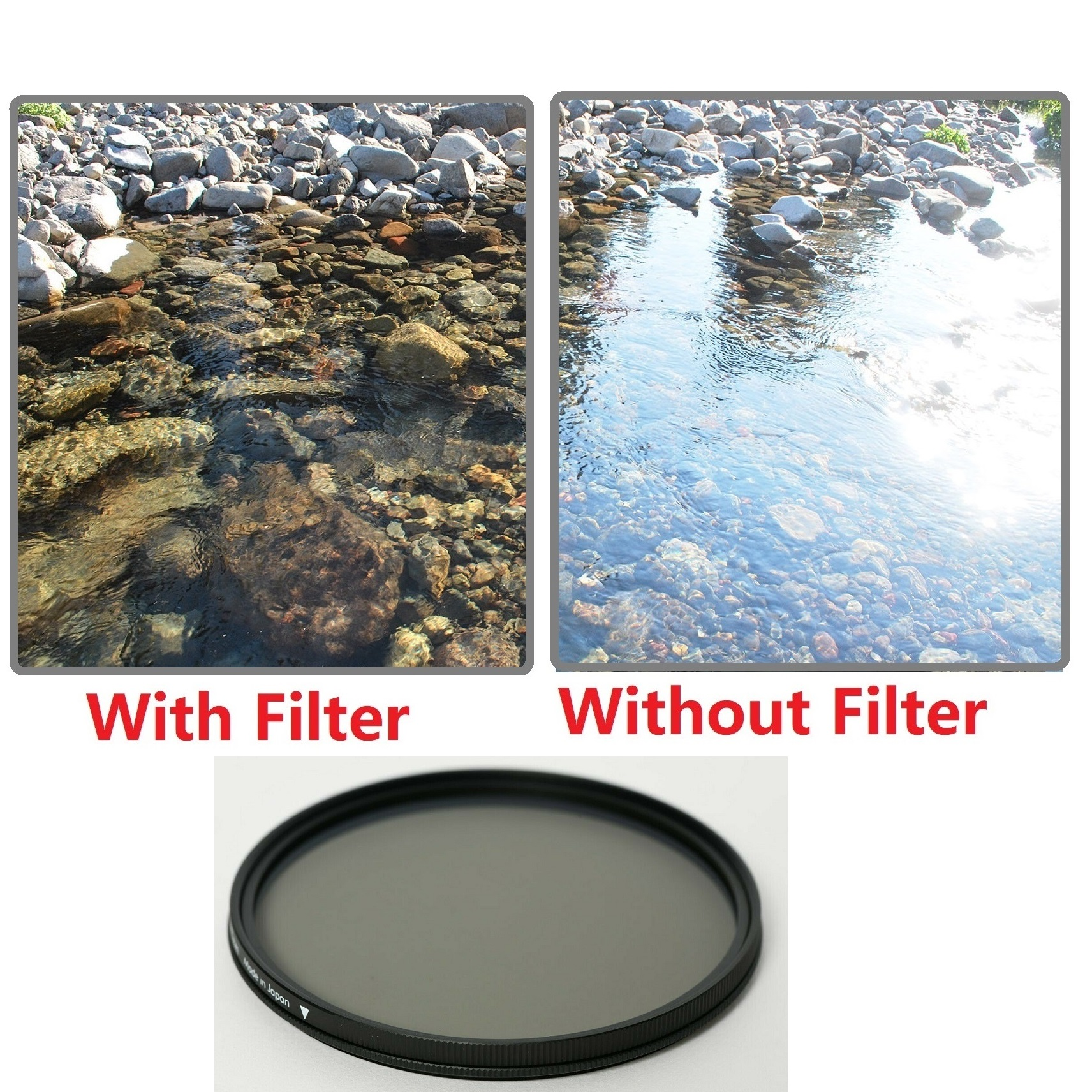 Hoya 82mm Fusion Antistatic Circular Polarizing Filters